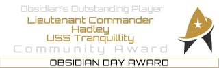 Obsidian Day Awards
