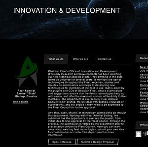 Fleet Department Page