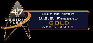 April 2017 Unit of Merit Awards
