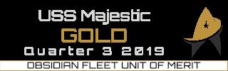 Gold Unit Of Merit - Quarter 3